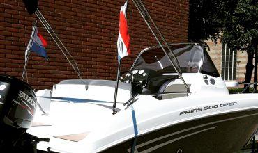 Prins 500 consoleboot met 60 pk suzuki
